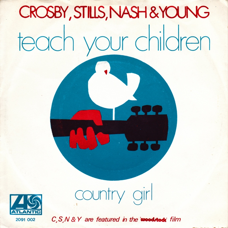 Crosby, Stills, Nash & Young – Teach Your Children (Animated 2018 Version)